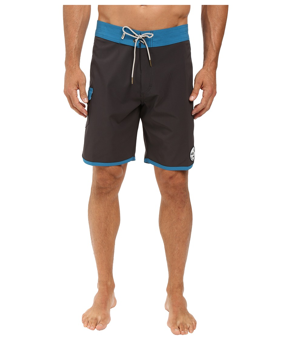 Vans - Classic Scallop Boardshorts (New Charcoal/Seaport) Men's Swimwear