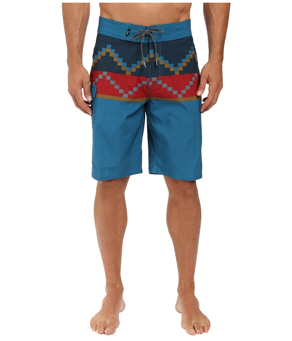 Vans - NF Rising Swell Boardshorts (Seaport) Men's Swimwear