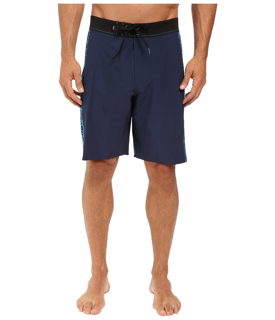 Vans - Side Psych Boardshorts (Dress Blues) Men's Swimwear