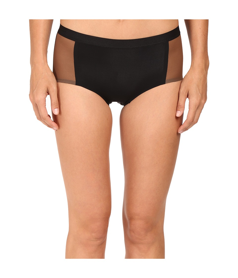Spanx - Undie-Tectable Retro Rise Mesh Brief (Very Black) Women's Underwear