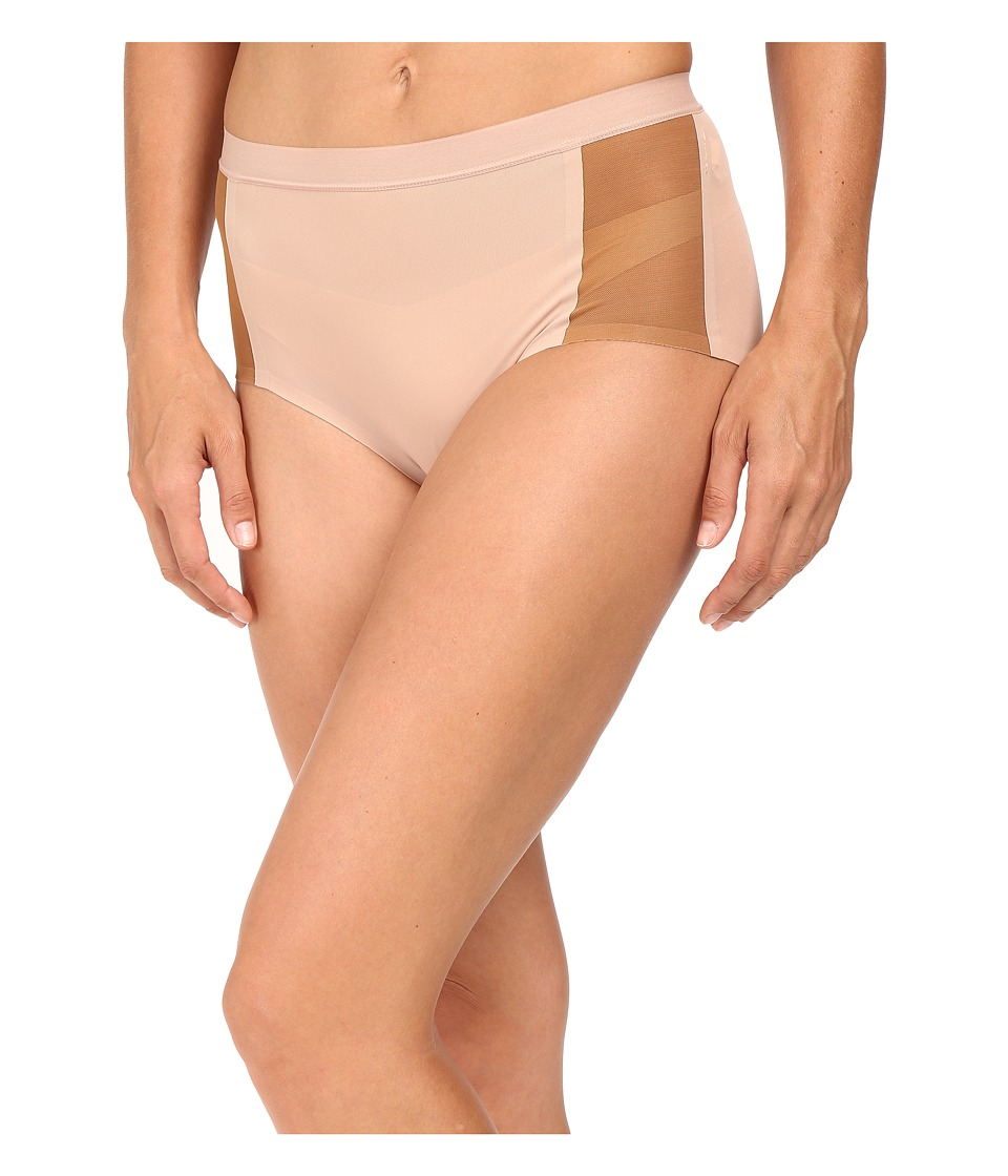 Spanx - Undie-Tectable Retro Rise Mesh Brief (Naked 3.0/Naked 2.0) Women's Underwear