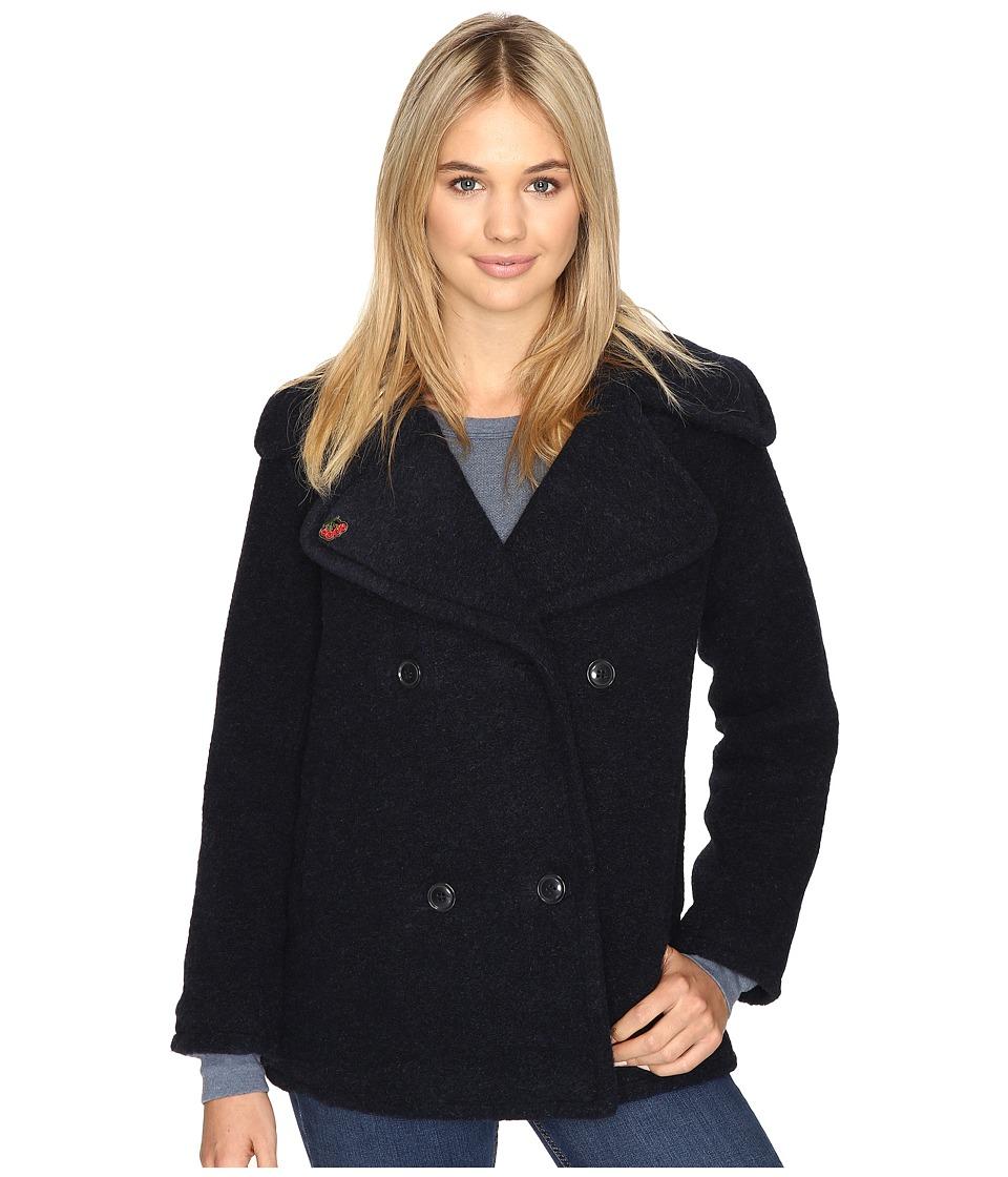 Obey - Karina Coat (Navy) Women's Coat