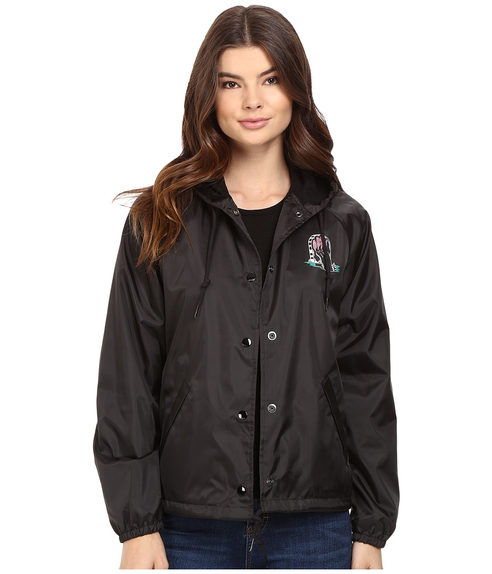 Obey - Slacker Vibes Jacket (Black) Women's Coat