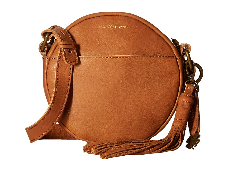 Lucky Brand - Jordan Round Crossbody (Tobacco) Cross Body Handbags