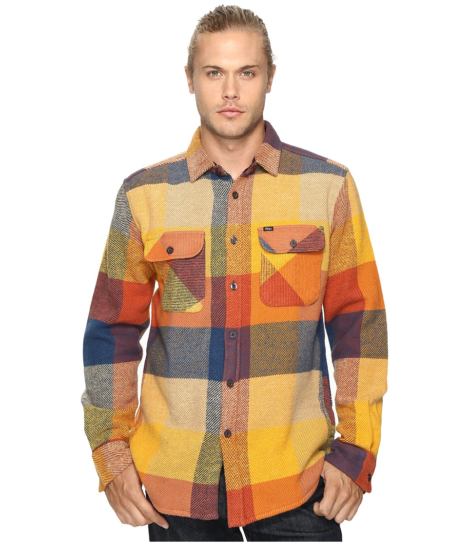 Obey - Wallace Woven (Brown Multi) Men's Clothing