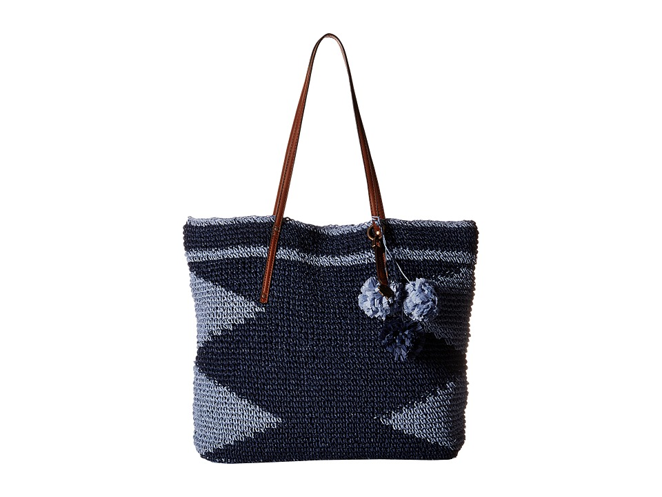Lucky Brand - Cabo Tote (Blue) Tote Handbags