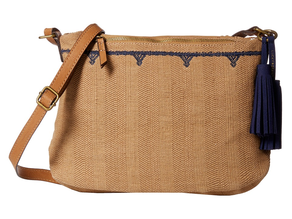 Lucky Brand - Maui Crossbody (Sand) Cross Body Handbags