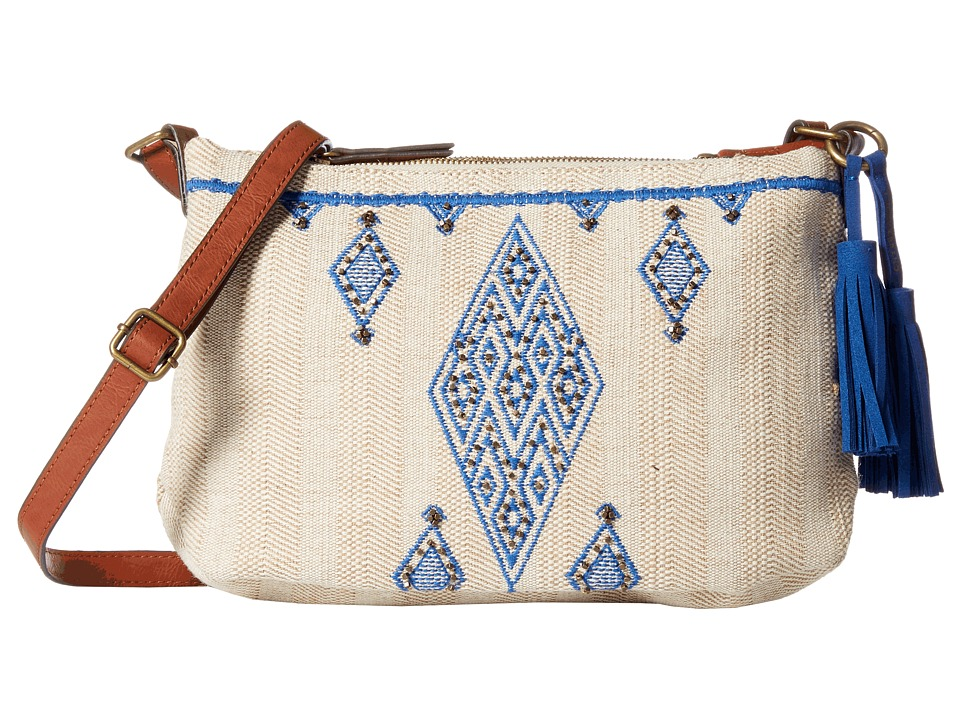 Lucky Brand - Maui Crossbody (Natural) Cross Body Handbags