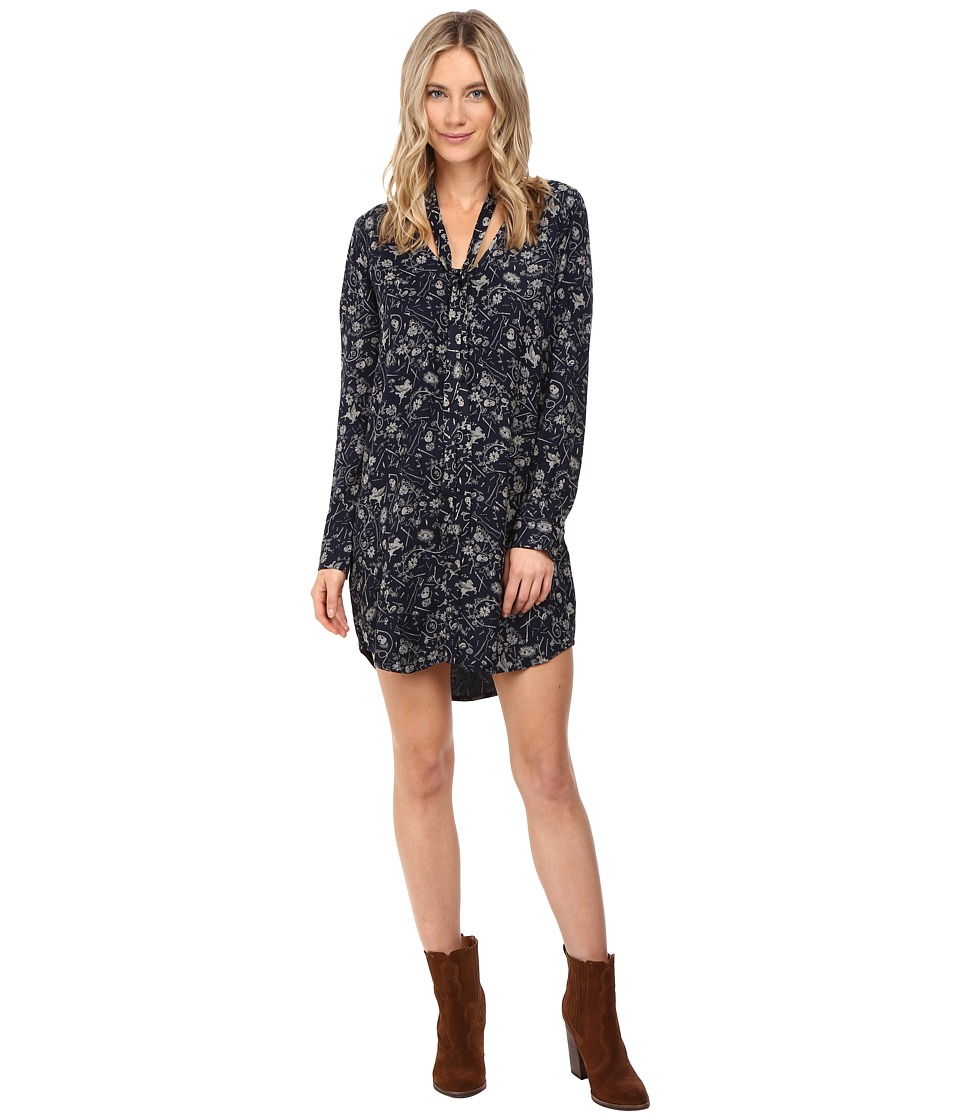 Obey - Sarah Dress (Navy Multi) Women's Dress