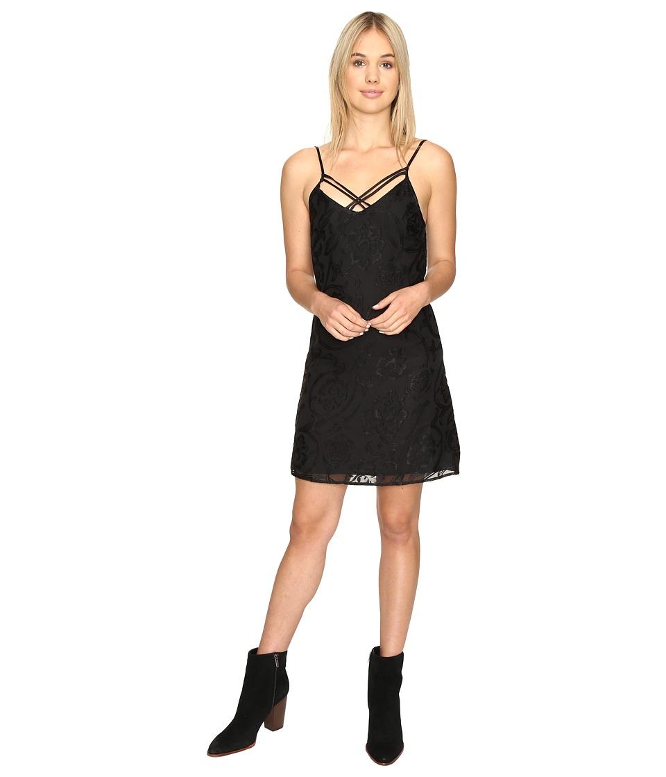 Obey - Amanda Slip Dress (Black) Women's Dress