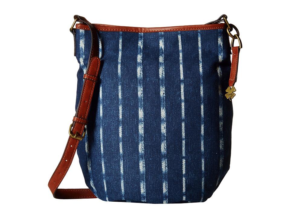 Lucky Brand - Indie Bucket (Vintage Stripe) Cross Body Handbags