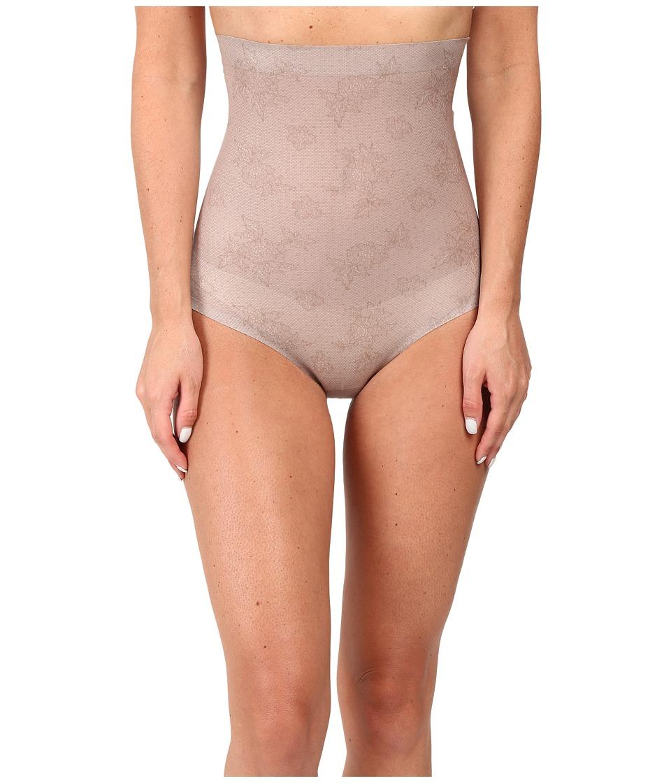 Spanx - Pretty Smart High Waisted Brief (Spanx Lace Taupe) Women's Underwear