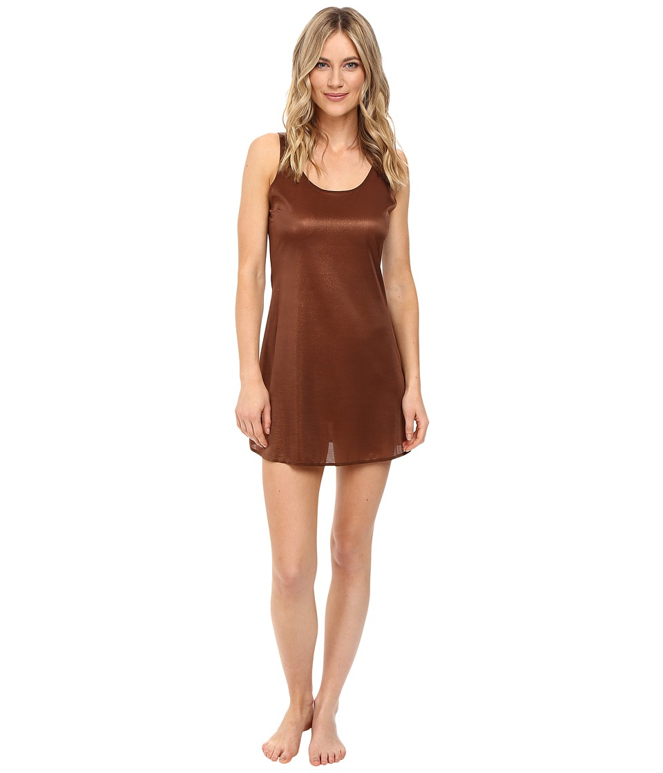 Spanx - The Sleek Tank Slip (Copper Sparkle) Women's Underwear