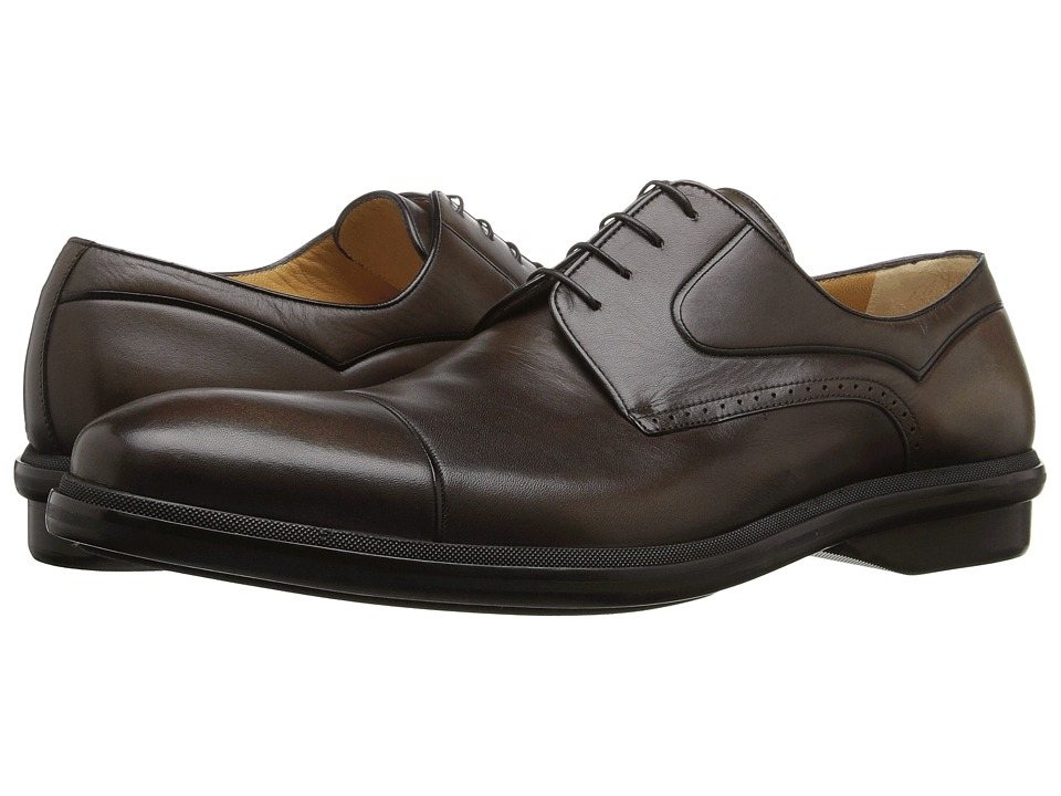 a. testoni - M12522MYM (Moro/Nero) Men's Shoes