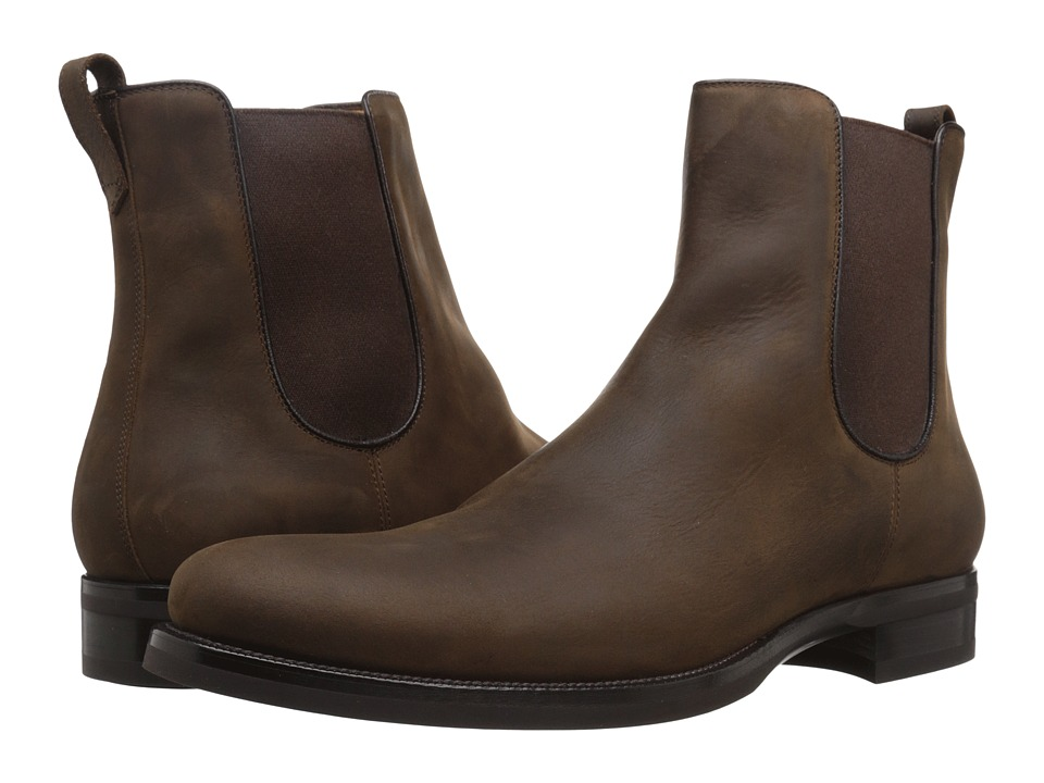a. testoni - M47228MSM (Moro/Nero) Men's Boots