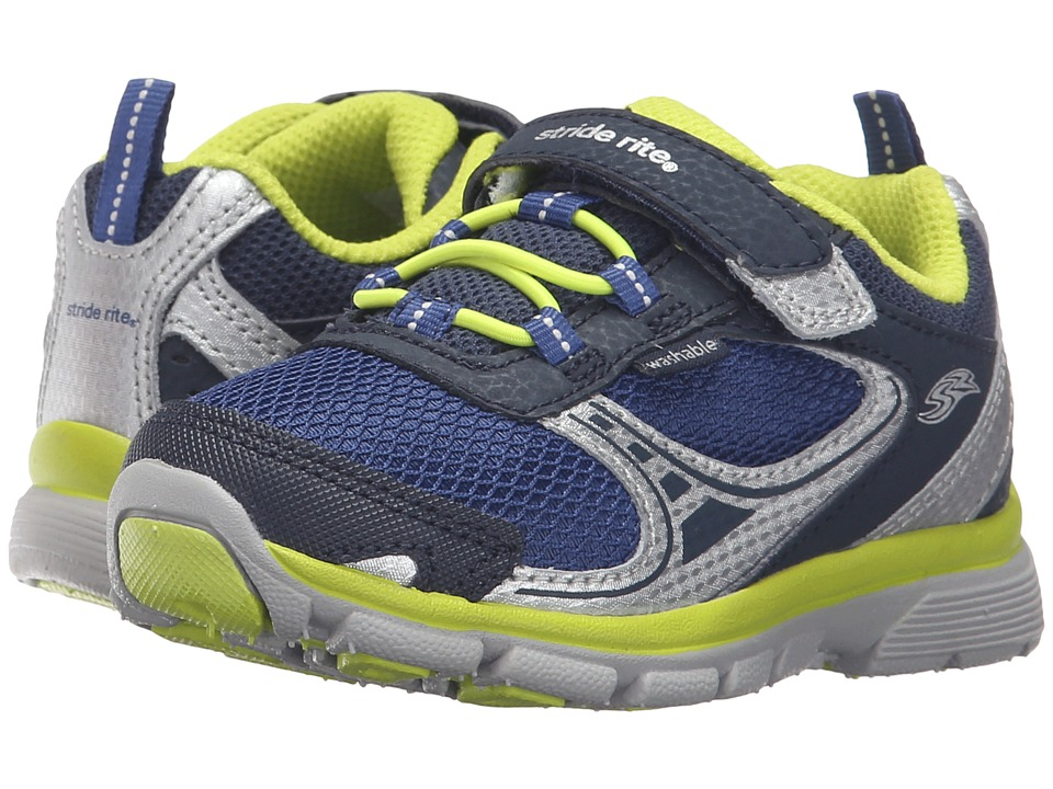 Stride Rite - Made 2 Play Lawson (Toddler) (Navy) Boy's Shoes
