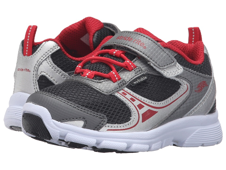 Stride Rite - Made 2 Play Lawson (Toddler) (Grey) Boy's Shoes