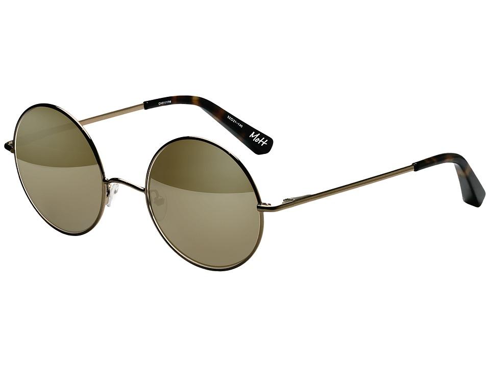 Elizabeth and James - Mott (Champagne/Champagne Mirror) Fashion Sunglasses