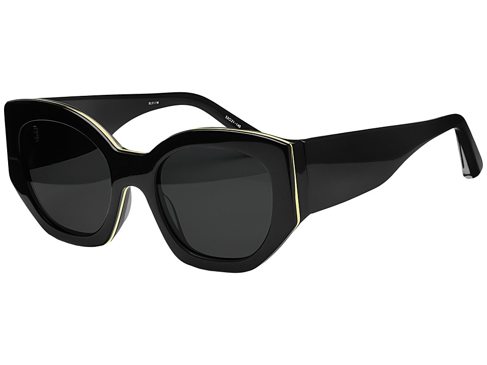 Elizabeth and James - Anderson (Black/Smoke Mono) Fashion Sunglasses