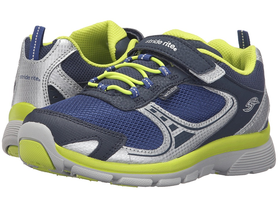 Stride Rite - Made 2 Play Lawson (Little Kid) (Navy) Boy's Shoes