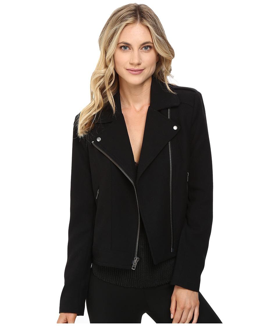 CATHERINE Catherine Malandrino - Moto Jacket (Blackbird) Women's Coat