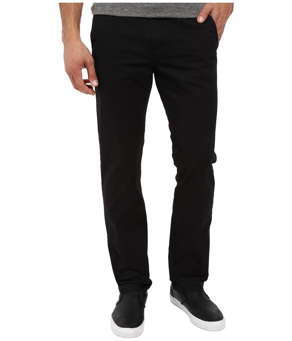 Vans - Excerpt Chino (Black) Men's Casual Pants