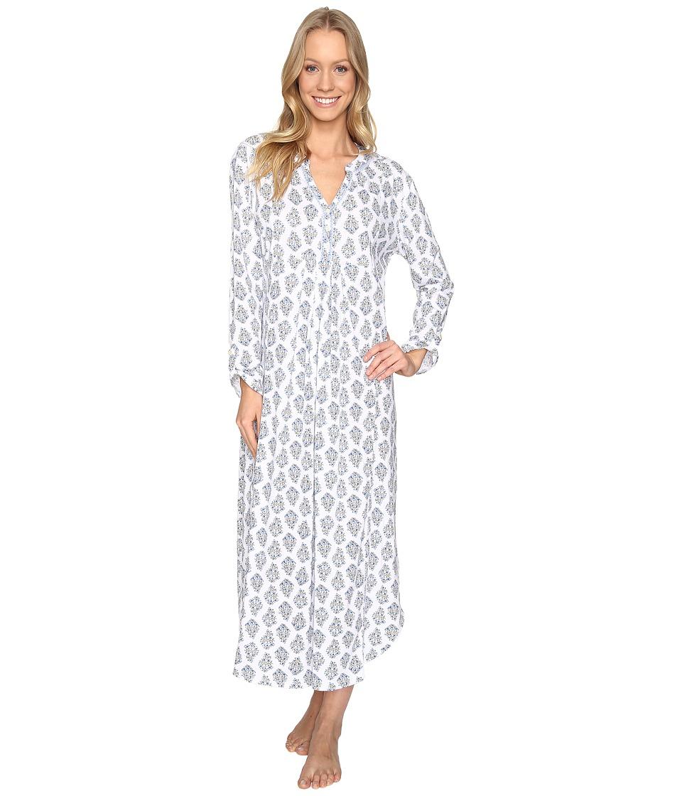 Carole Hochman - Caftan Gown (Foulard Bouquet) Women's Pajama