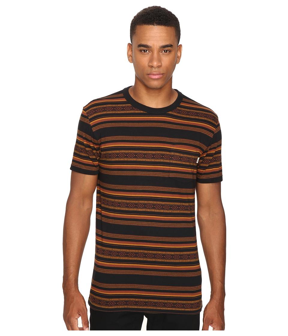 Vans - Sutter Crew (Black) Men's Clothing
