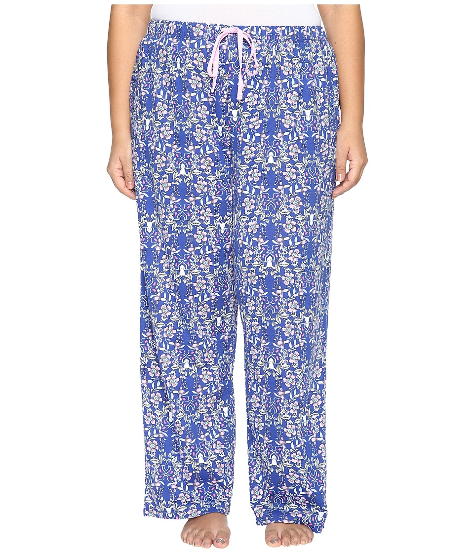 Jockey - Plus Size Printed Long Pants (Winter Woodland) Women's Pajama