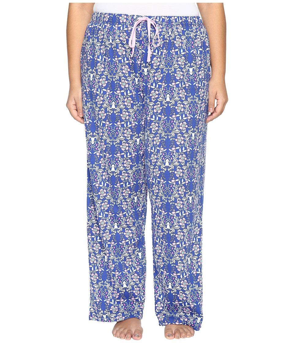 Jockey - Plus Size Printed Long Pants (Winter Woodland) Women's Pajama