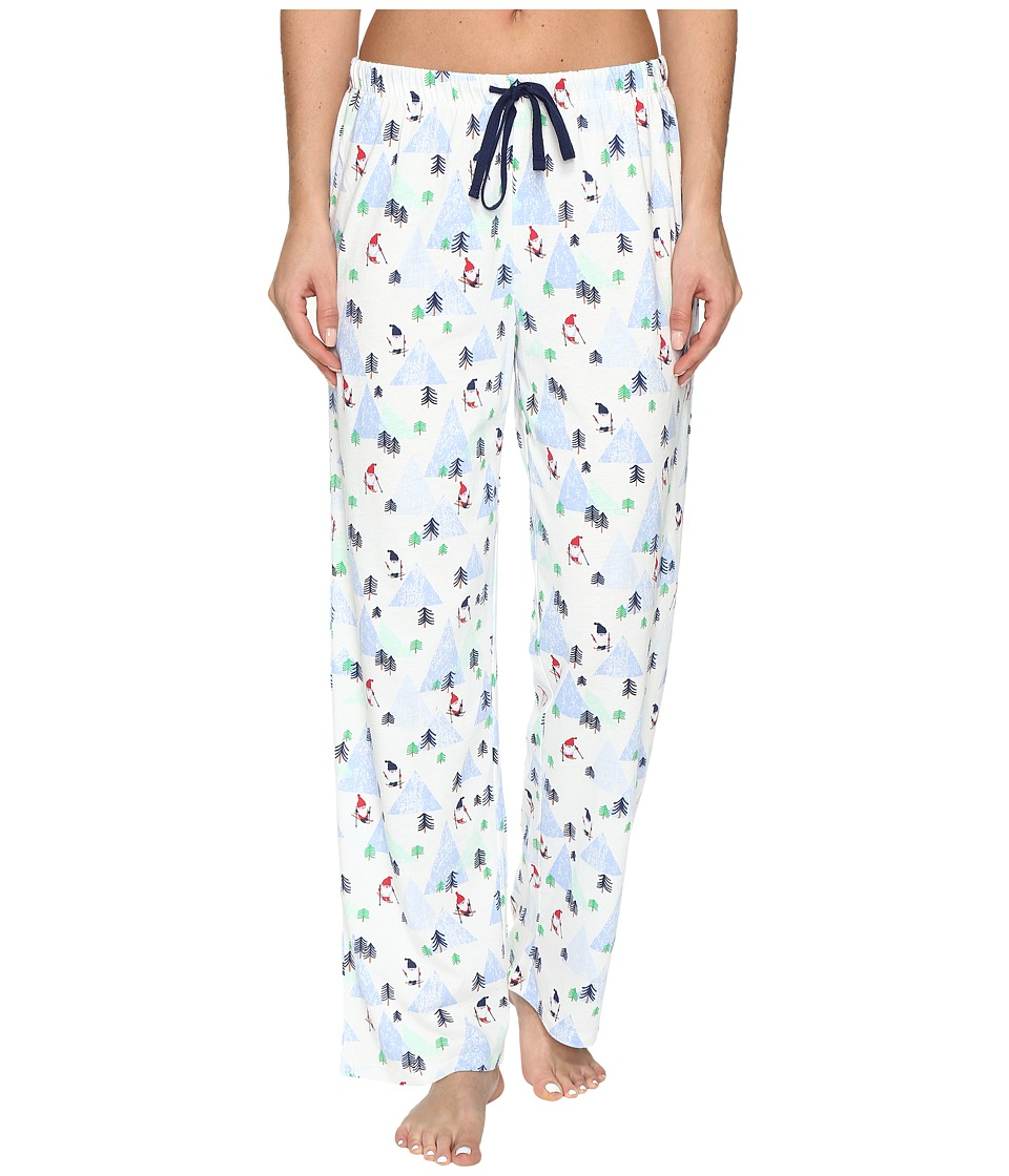 Jockey - Printed Long Pants (Skiing Gnomes) Women's Pajama