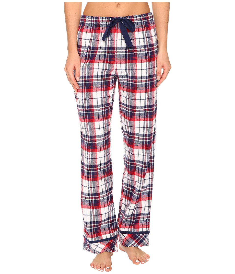 Jockey - Flannel Plaid Long Pants (Holiday Tartan) Women's Pajama