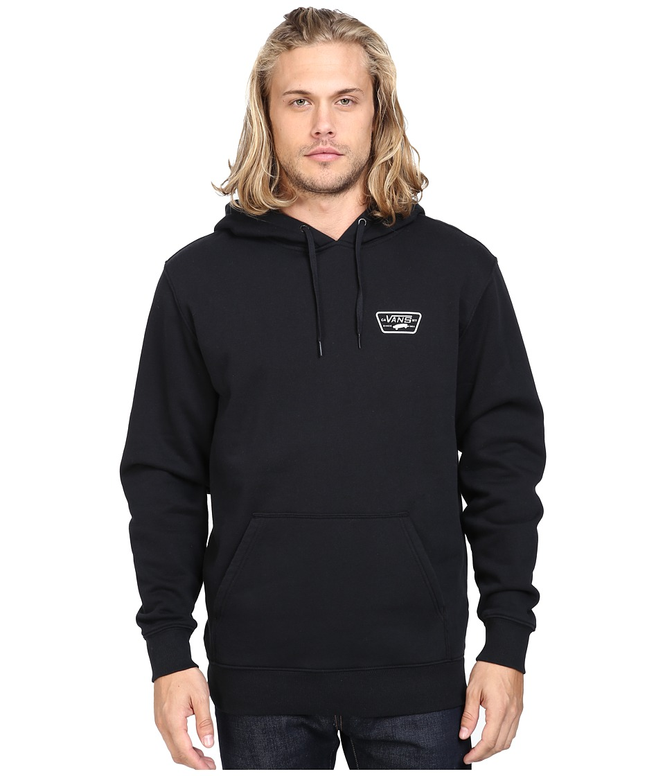 Vans - Full Patched Pullover Fleece (Black) Men's Fleece