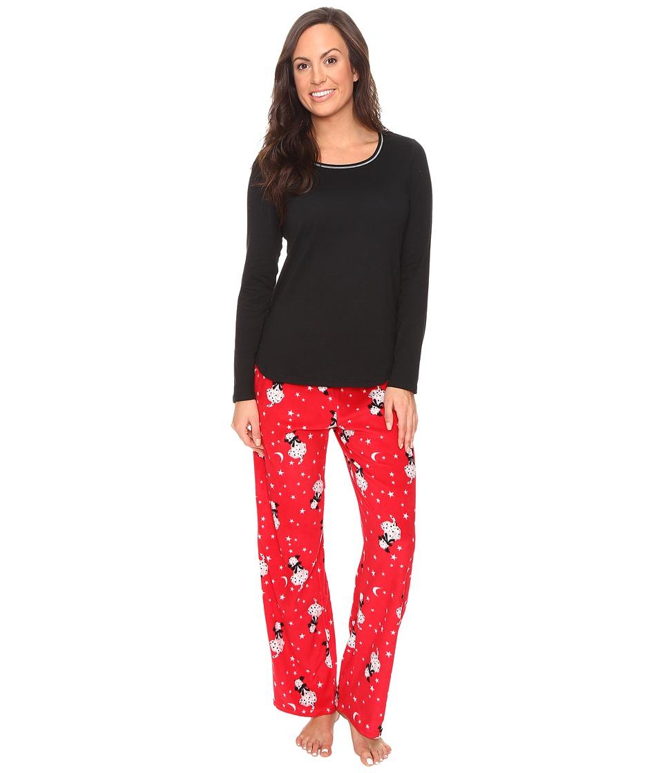 Jockey - Microfleece PJ Set (See Spot Run) Women's Pajama Sets