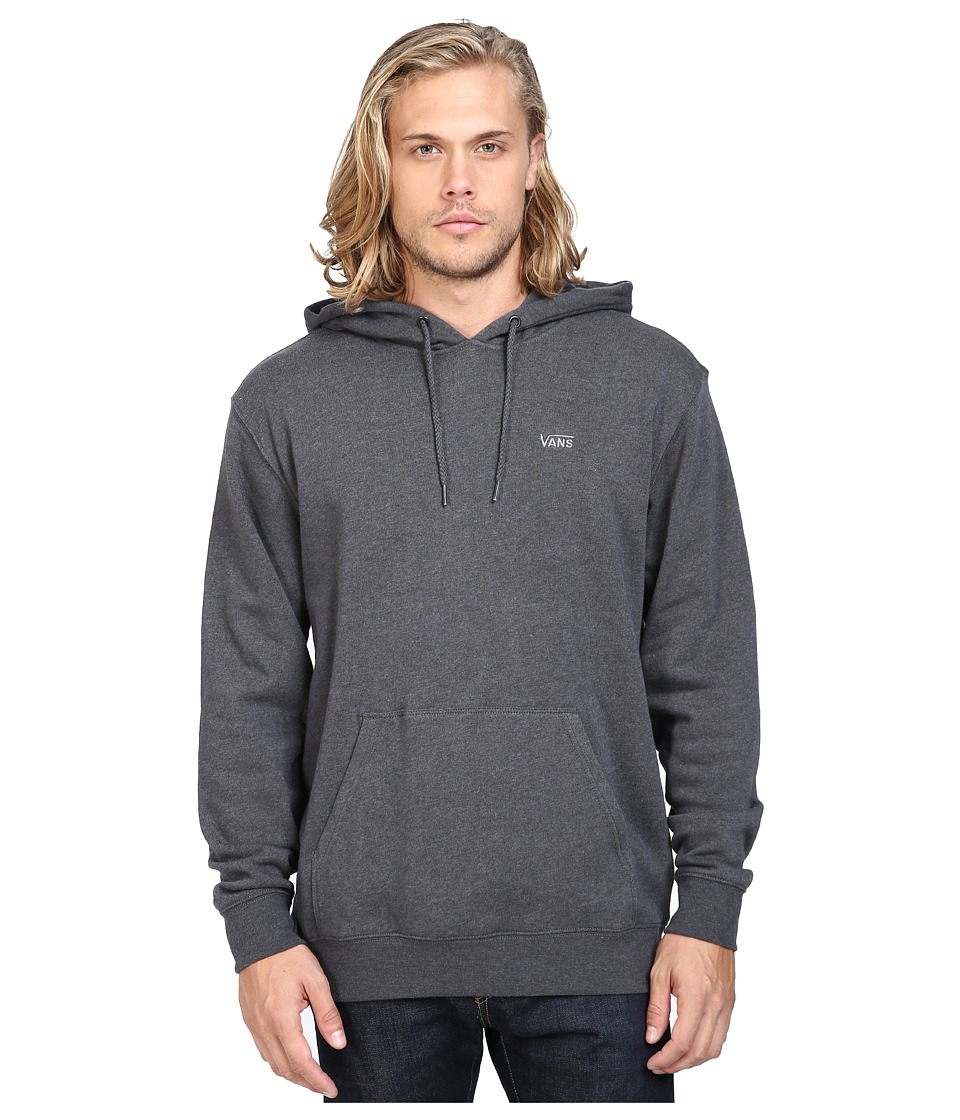 Vans - Core Basics Pullover Fleece IV (New Charcoal Heather) Men's Fleece