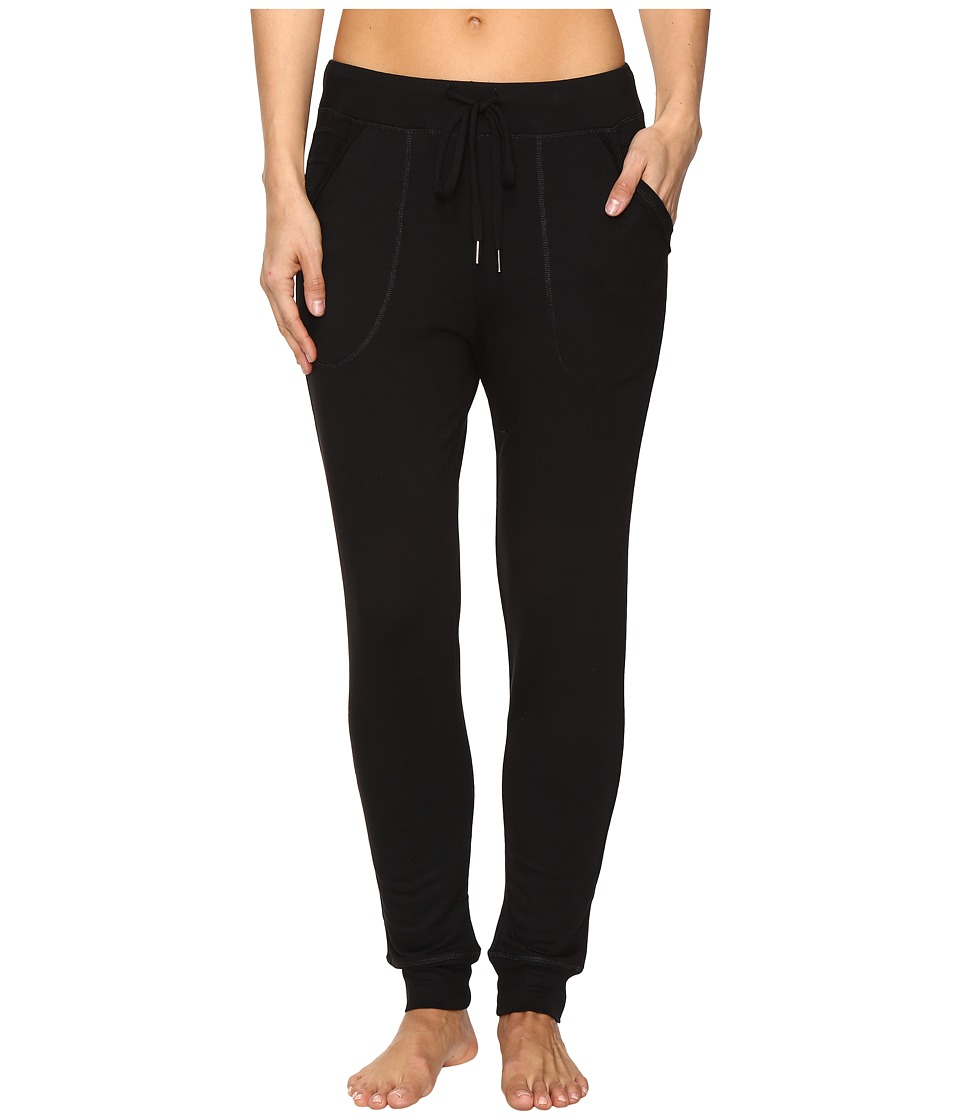 Midnight by Carole Hochman - Lounge Jogger Pants (Black) Women's Pajama