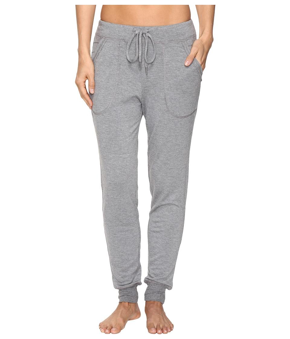 Midnight by Carole Hochman - Lounge Jogger Pants (Grey Heather) Women's Pajama