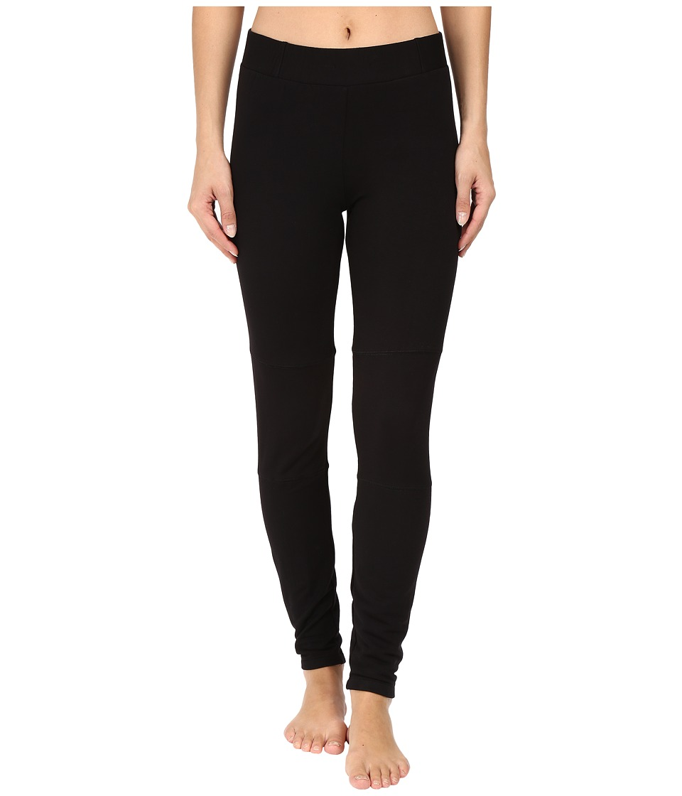 Midnight by Carole Hochman - Lounge French Terry Leggings (Black) Women's Pajama