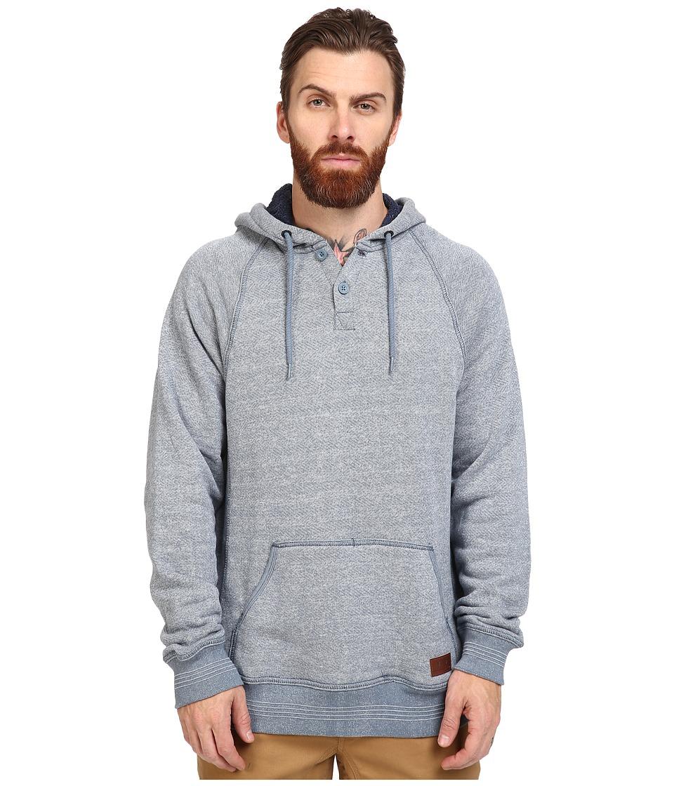 Vans - Leyden Henley Pullover (Blue Mirage) Men's Clothing