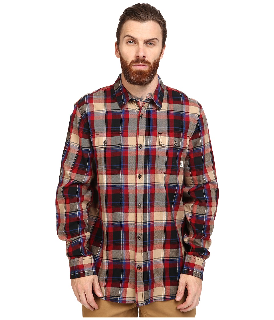 Vans - Elm (Red Dahlia/Black) Men's Clothing