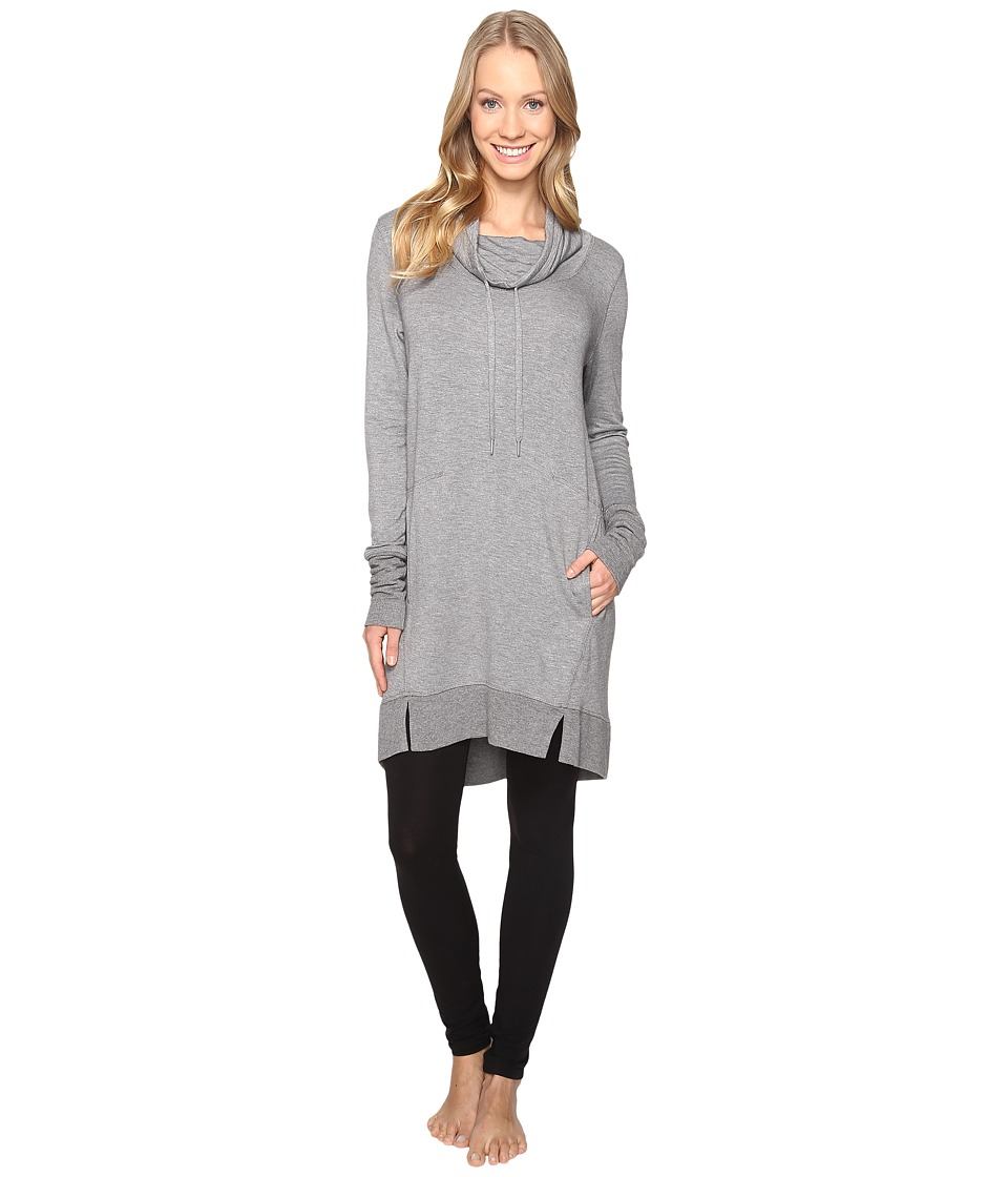 Midnight by Carole Hochman - Lounge Pullover (Grey Heather) Women's Pajama