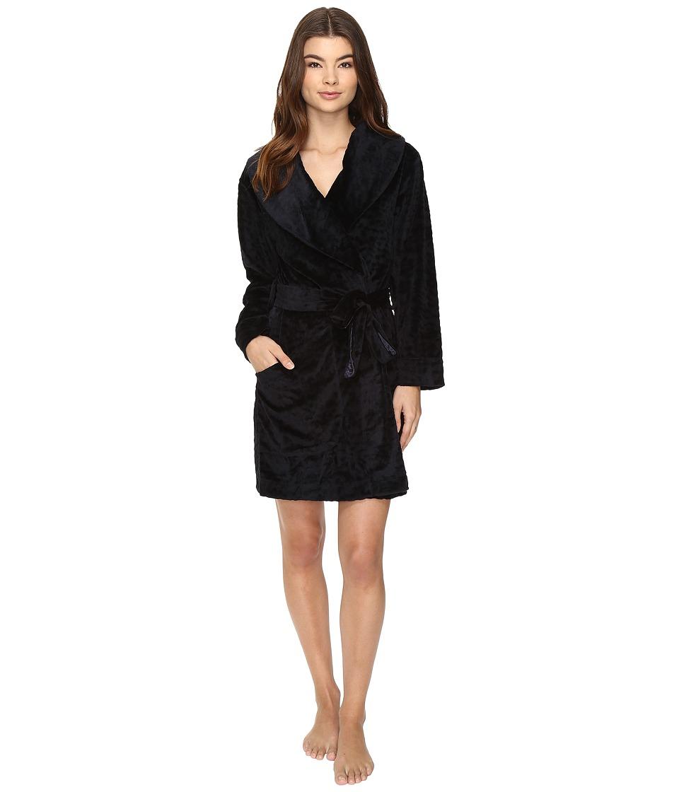 Midnight by Carole Hochman - Sheared Plush Robe (Midnight) Women's Robe