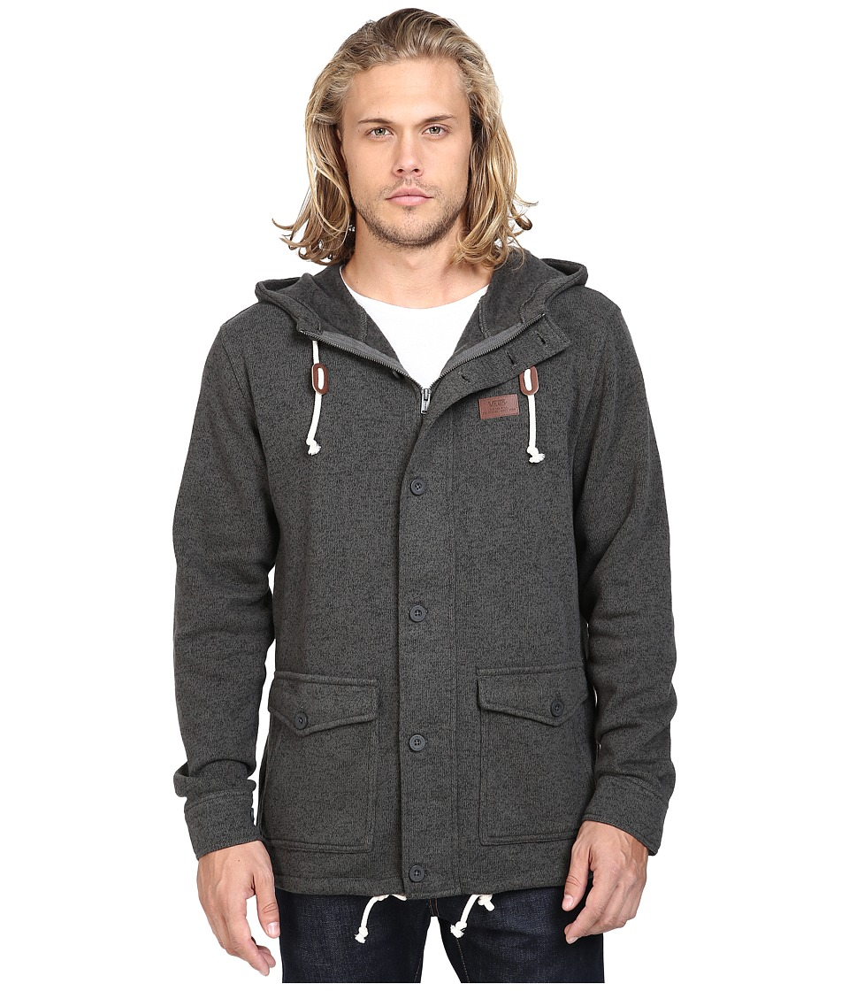 Vans - Tomlin Fleece Jacket (New Charcoal) Men's Coat