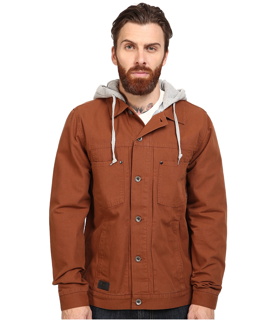 Vans - Calpine Jacket (Tortoise/Grey Heather) Men's Coat