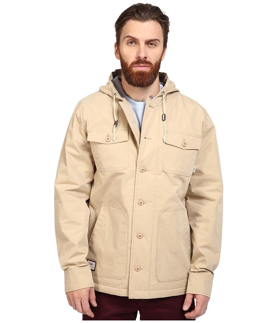 Vans - Lismore Deluxe (Khaki) Men's Jacket