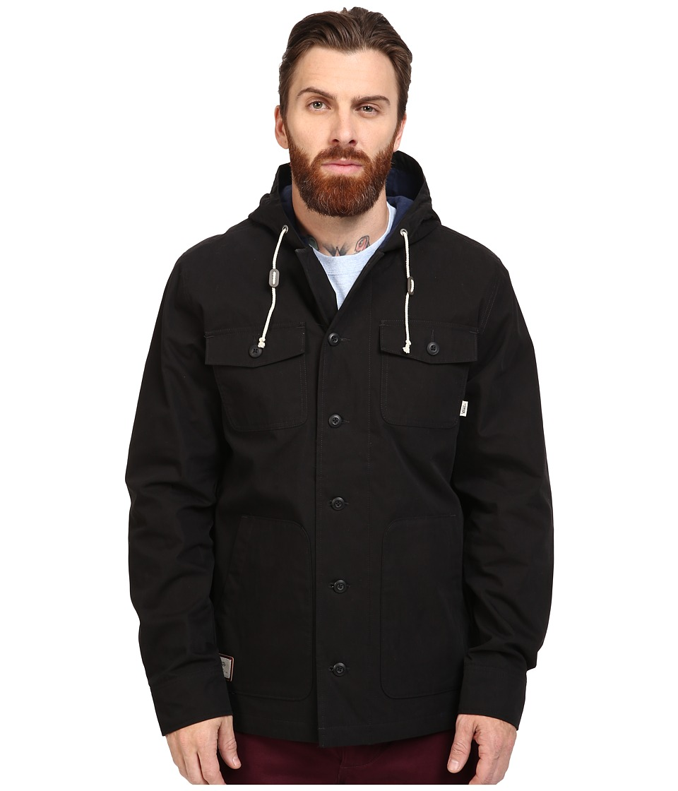 Vans - Lismore Deluxe (Black) Men's Jacket
