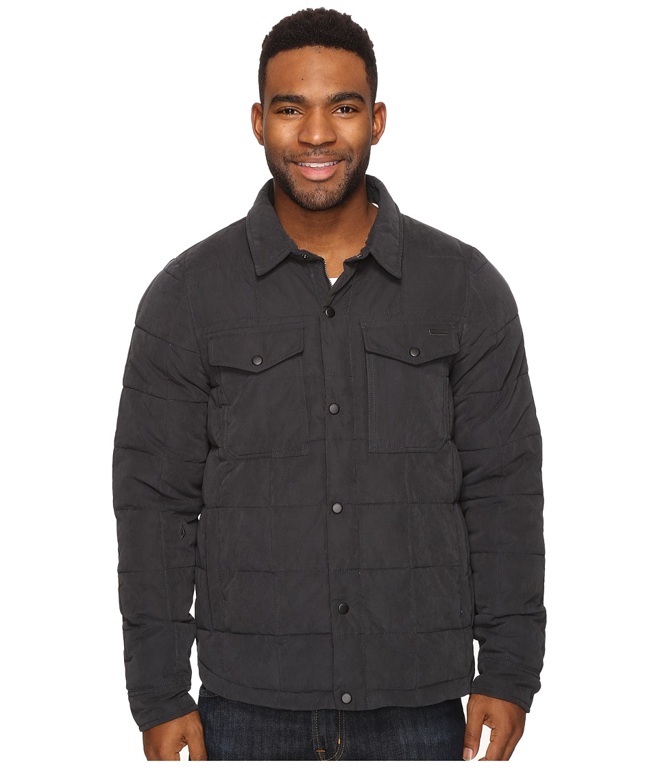 Volcom - Fleming Jacket (Black) Men's Coat