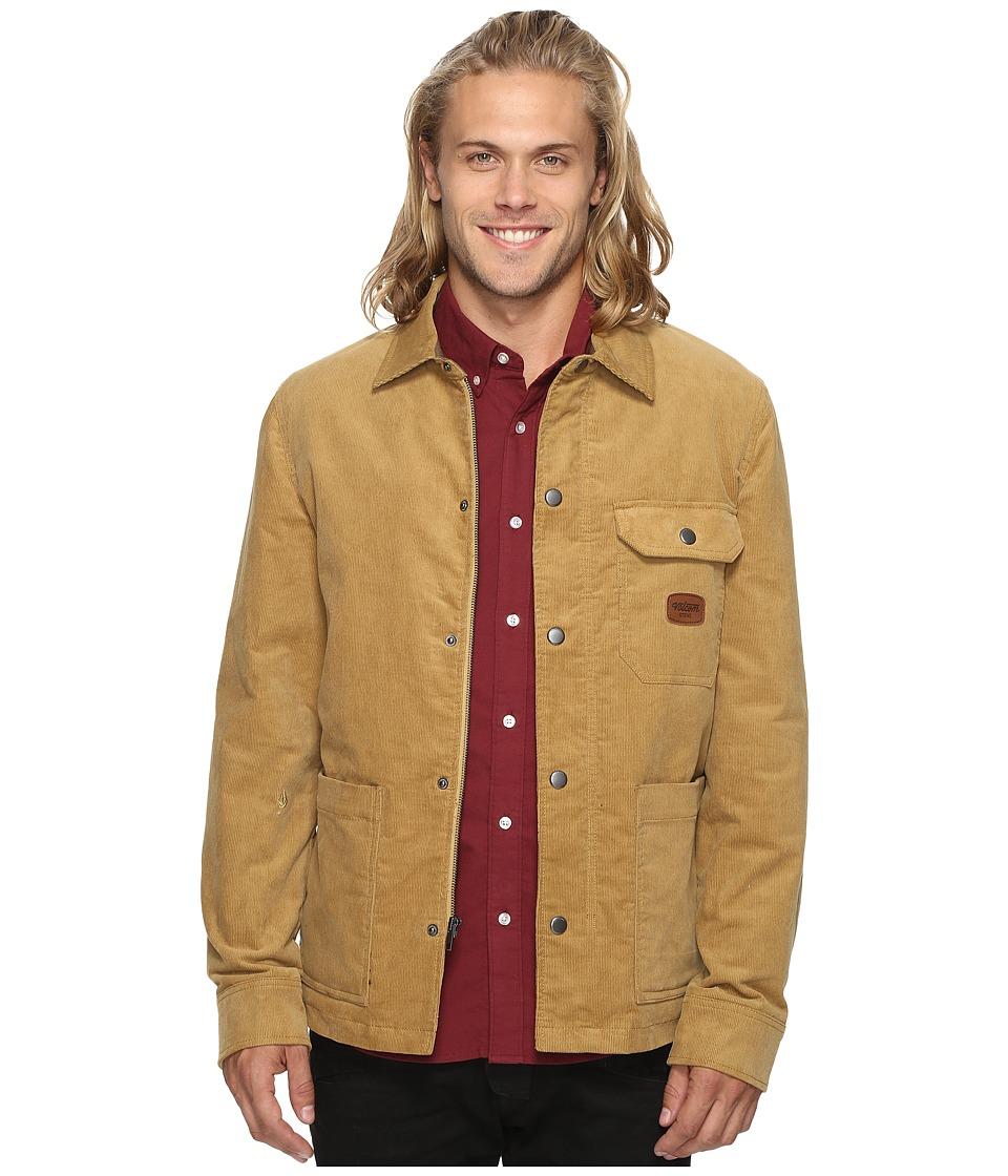 Volcom - Superior Jacket (Burnt Khaki) Men's Coat