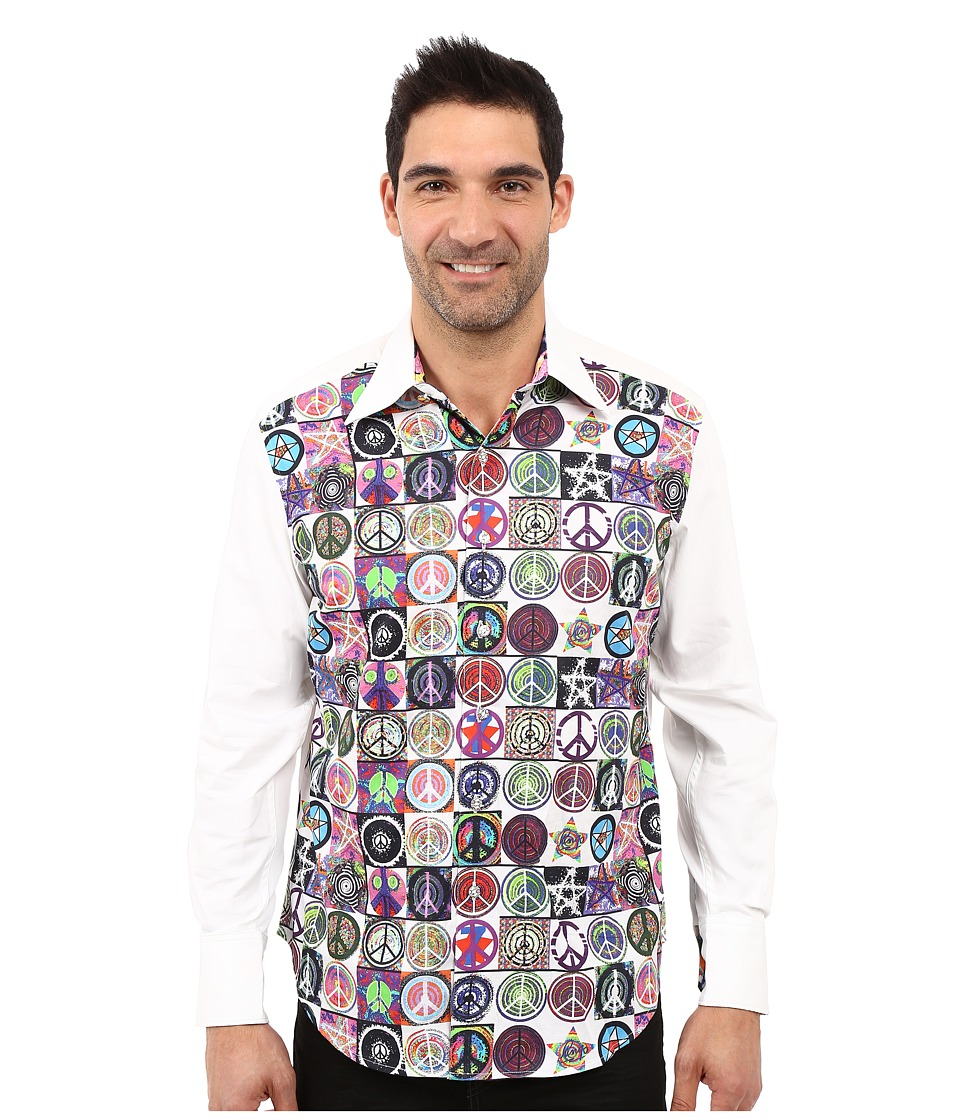 Robert Graham - Ringo Limited Edition Long Sleeve Woven Shirt (White) Men's Long Sleeve Button Up