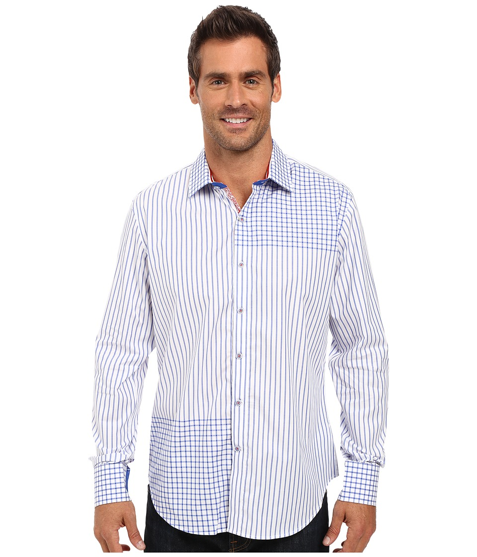 Robert Graham - Yermo Long Sleeve Woven Shirt (White) Men's Long Sleeve Button Up
